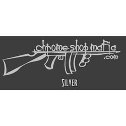 10 Inch CSM Tommy Gun Decal
