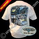 High Quality Ash Gray tee shirt featuring Platinums awesome 379 Pete