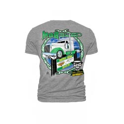 Gray Mobsled Ridin High T-Shirt - Small