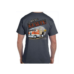 Charcoal Guilty with Pete Cabover T-shirt 2XL