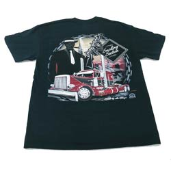 CSM Peterbilt 359 Smokin Section T-Shirt - 2X Large