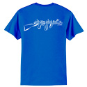 Royal Blue CSM Logo T-Shirt Large