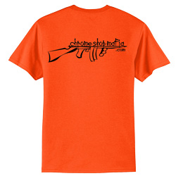 Orange CSM Logo T-Shirt Large