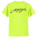 Safety Green CSM Logo T-Shirt 2XL