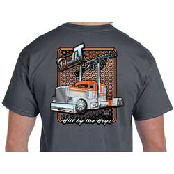 CSM Double T Peterbilt T-Shirt Dark Gray - Large