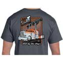 CSM Double T Peterbilt T-Shirt Dark Gray - 2XL