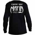 Chrome Shop Mafia Long Sleeve Black T-Shirt