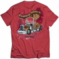 CSM Lumber Jacked Short Sleeve T-Shirt
