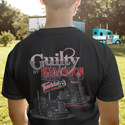 Guilty By Association Truck Show 2020 Truckin TV Black Short Sleeve T-Shirt
