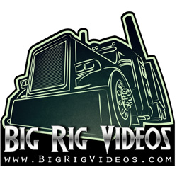 Big Rig Videos Sticker 3.5in x 3.5in