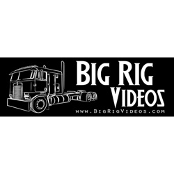 Big Rig Videos Black Bumper Sticker