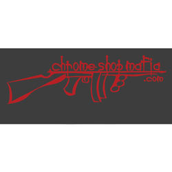 15 Inch CSM Decal - Dark Red Metallic