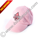 Ladies Embroidered CSM Hat - Pink