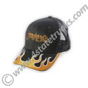 Black Mesh Back Hat w/2 Tone C