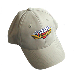 4 State Trucks Logo Tan Adjustable Cap