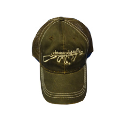 Brown Weathered Chrome Shop Mafia Hat