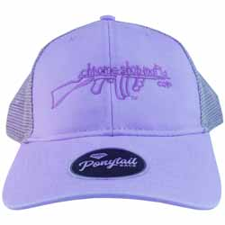 CSM Womens Ponytail Hat - Lavender