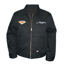 CSM Black Embroidered Work Jacket - 2XL