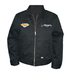CSM Black Embroidered Work Jacket - Medium