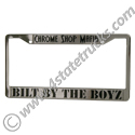 Chrome Shop Mafia License Plate Frame