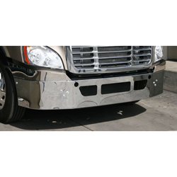 16in Valley Chrome Bumper - Freightliner Cascadia