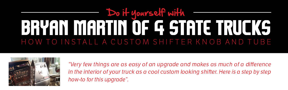 Click to Read More on Shift Knob How-To