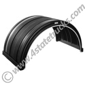 Black Full Radius Poly Fender 24x 26x50 inches