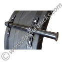 Straight Fender Bracket for Poly Fenders