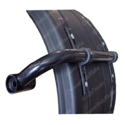 Curved Fender Bracket for Plastic Fenders