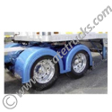 Fiberglass Double Hump Full Fenders