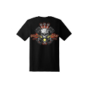 Diesel Life Black Skeleton Logo T-shirt Size XL