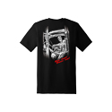 Diesel Life Black Skeleton T-shirt Size 3XL