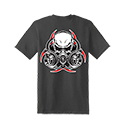 Diesel Life Gas Mask Charcoal T-shirt Size 2XL