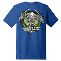 Diesel Life Unleash Your Inner Diesel Blue T-shirt Size 3XL