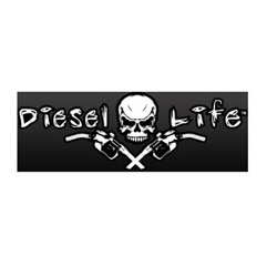 Diesel Life 8 Inch Decal