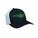 Diesel Life Black & Green White Mesh Hat
