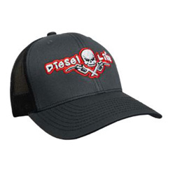 Diesel Life Red & Charcoal Snap Back Hat