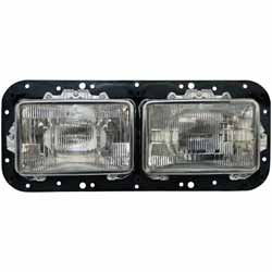 Dual Square Headlight Assembly