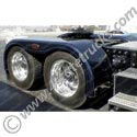 Fiberglass Full Fenders w/ Mounting Brackets