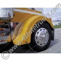 Fiberglass Front Fenders - Old Style For Peterbilt