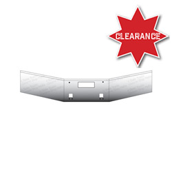 14 Inch Stainless Steel Straight Bumper Fits Kenworth T800 & T880