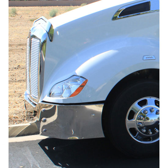 Big Valley Ford >> Chrome Bumper for Kenworth T680 Models - 4 State Trucks