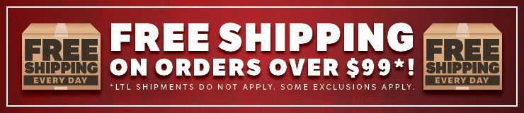 Free shipping on orders over $99. Some Exclusions apply.