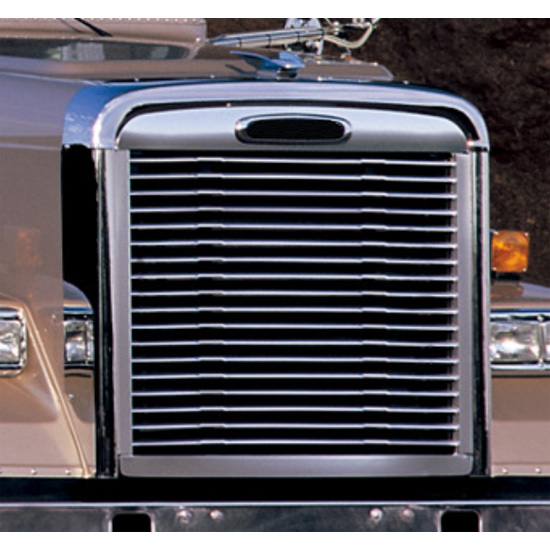 Stainless Steel Grille Surround Fits Freightliner Classic Xl 4 State Trucks
