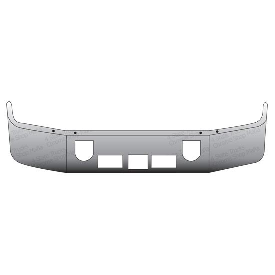 Valley Chrome Bumpers : Valley chrome in sba bumper state trucks