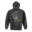 Diesel Life Turbo Got Boost Charcoal Hoodie