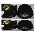 Black & Gray Heavy Haul Mafia Fitted Hat Large/XL