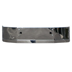 16 Inch Chrome Wrap Around Bumper With Tow Holes Fits Peterbilt 587