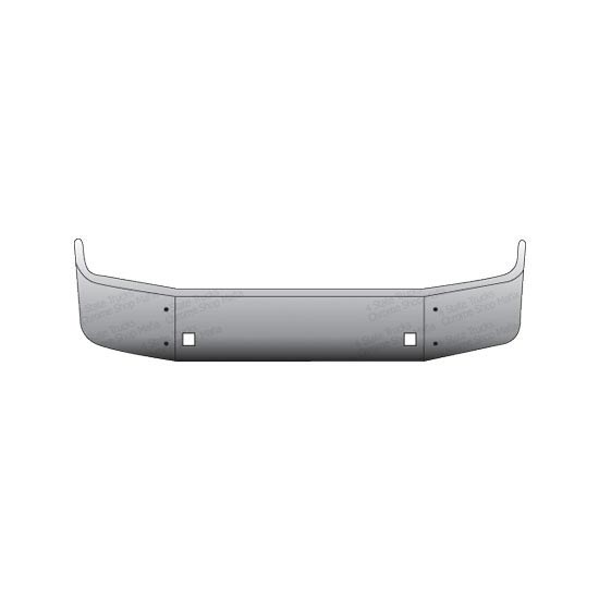 Valley Chrome Bumpers : Valley chrome in bumper peterbilt state trucks