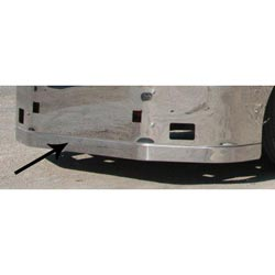 Peterbilt 386 Spoiler - Spoiler for Valley Chrome Bumpers